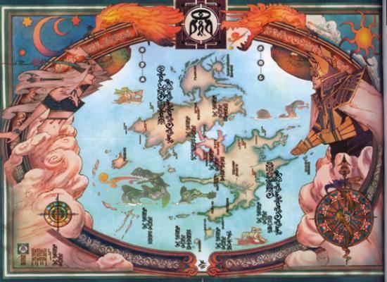 Breath Of Wild Walkthrough >> Final Fantasy 10 / X / FF10 - World Map
