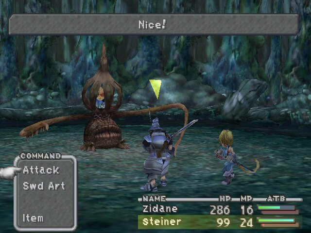 boss plante premier boss final fantasy ix ps1