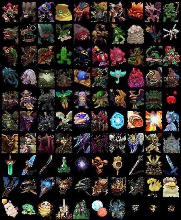 Final Fantasy 9 / IX / FF9 - Card List (Image)